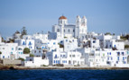 A White Seaside Greek Town