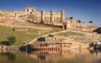 A Palace overlooking lake