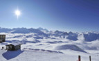 Sunny day on the slopes