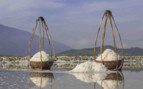 Baskets of salt