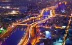 Night Skyline of Ho Chi Minh