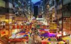 Fa Yuen Market at Night