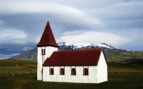 Hellnar church in Iceland