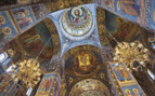 Church of the Saviour on Spilled Blood interior