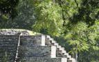 Temple in Copan, Honduras
