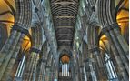 An image of the interior of St Mungo's Cathedral