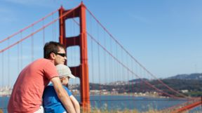 Father and Son, Golden Gate Bridge
