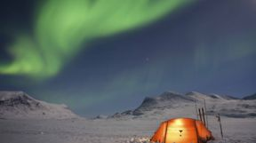 Camping Northern Lights, Swedish Lapland