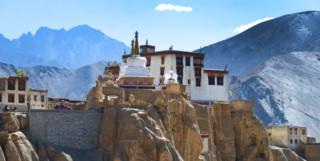 Hilltop Monastery in Ladakh