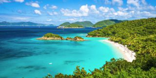 Trunk Bay, Caribbean