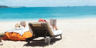 Honeymooners in Mauritius