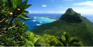 Beautiful view of Lord Howe Island in Australia