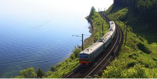 Lake Baikal train ride