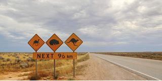 Open roads in Australia