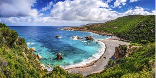 Sardinia coast, Italy