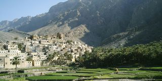 Village in Oman
