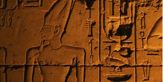 Etchings and hieroglyphics