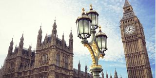 Image of Parliament and Big Ben, England