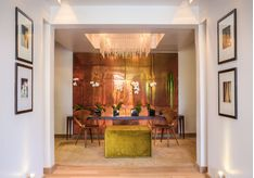 The interior at Kensington Place, luxury hotel Cape Town, South Africa