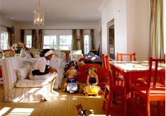 Kids playroom at Kurland, luxury hotel in South Africa