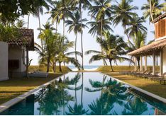 The pool at Frangipani Tree, luxury hotel in Sri Lanka