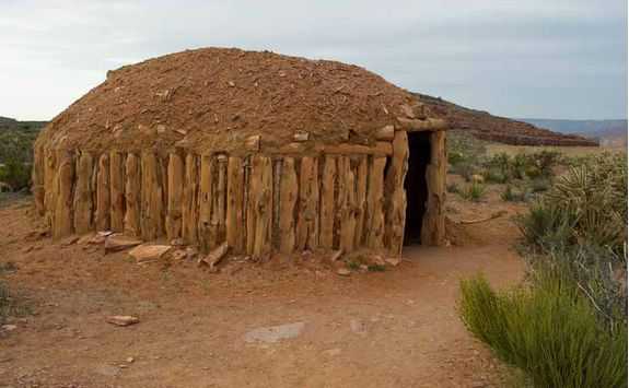 Navajo Lodge For Living And Meeting