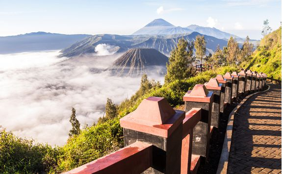 Bromo view, Java
