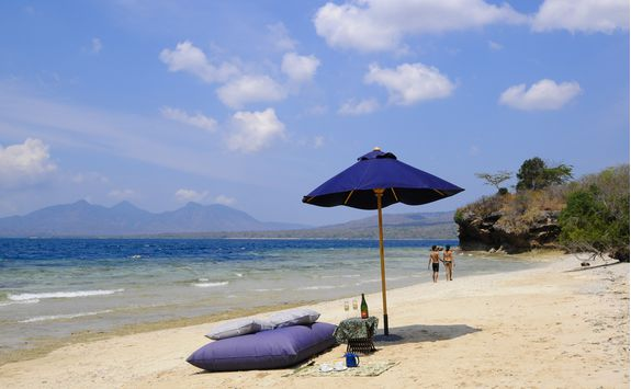 Beach at The Menjangan, Bali