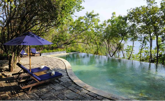 Swimming pool at The Menjangan