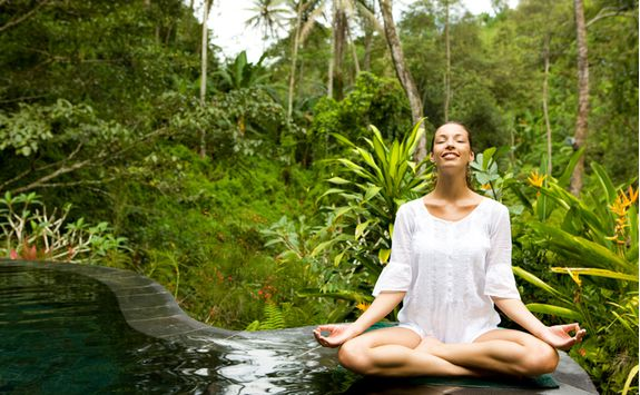 Yoga relaxation, Bali