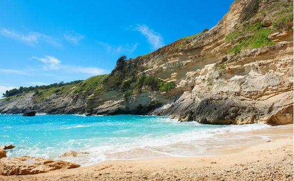 Beach and ocean in Puglia