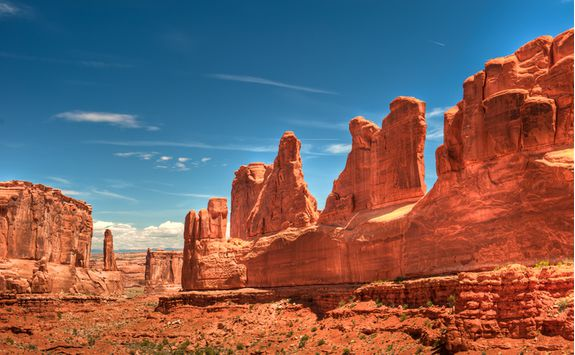 Image of rock formations