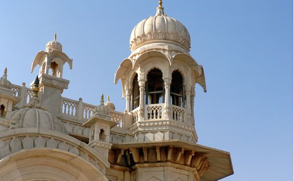 Jodhpur detail shot of building