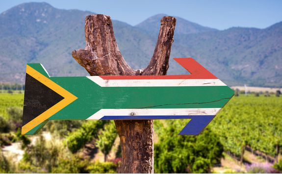 South Africa sign