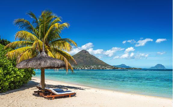 Mauritius beach loungers