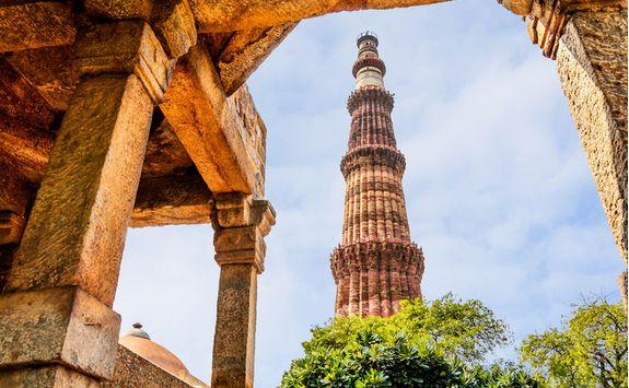 Qutab Minar Tower in Delhi