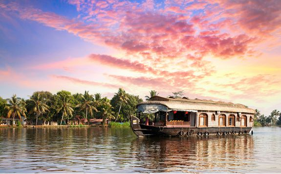 backwaters rice barge