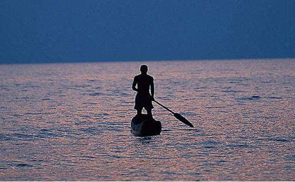 Paddle Boarding at Greystoke Mahale