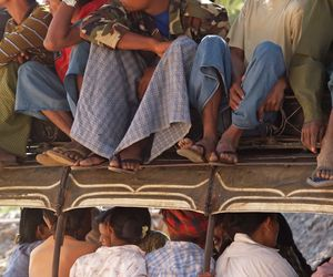 Crowded Bus