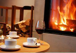 Enjoy fine dinin at the lodge