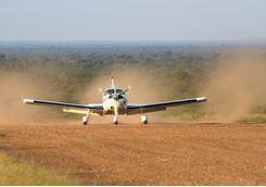Light Aircraft Landing