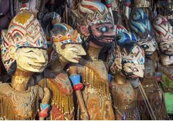 Puppets, Java