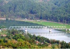 Railway bridge, Java