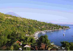 Bali aerial