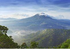 Mount Batur, Bali view