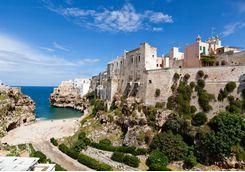 Beach Alcove, Puglia Italy