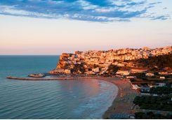 Puglia Beach at Sunset, Italy