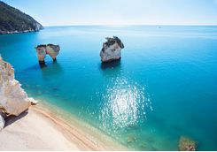 Puglian coast