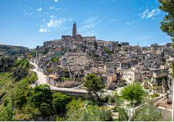 A view of Matera, Puglia