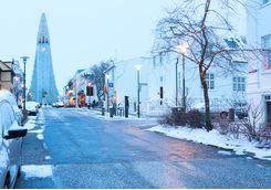 A street in Reykjavik